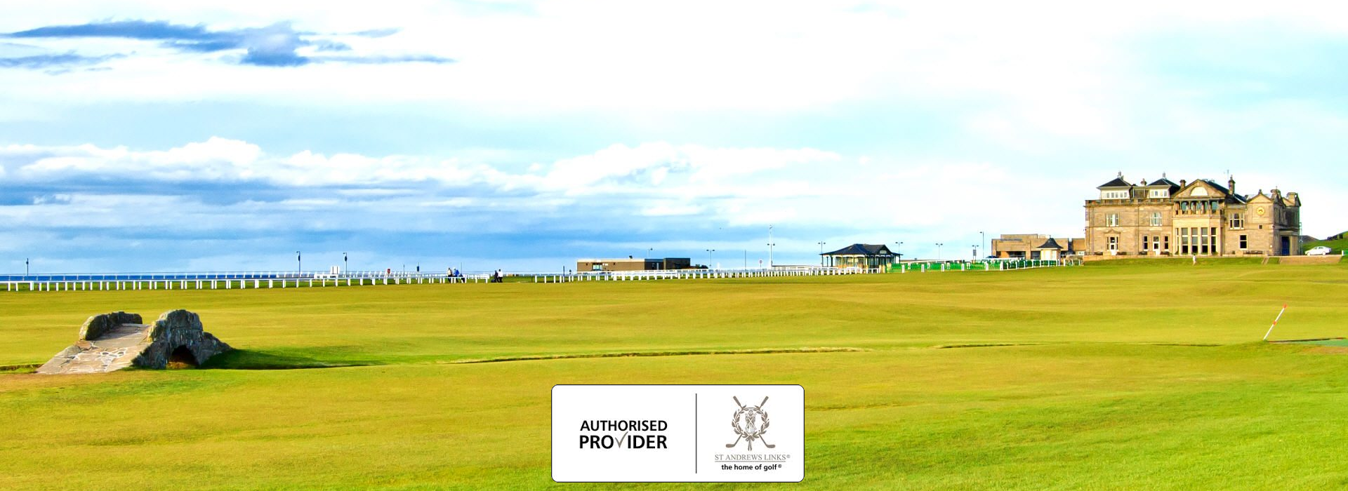 Authorised Provider of St Andrews Links the home of golf